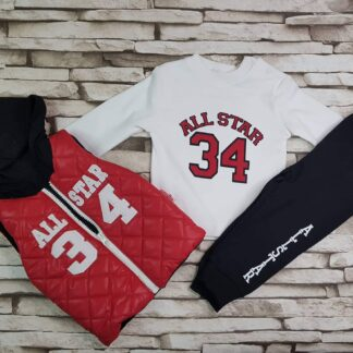 Σετ Αμάνικο Μπλούζα Παντελόνι All Star 34