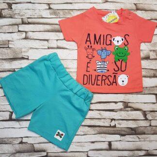 Σετ Μπλουζάκι Σορτσάκι Amigos
