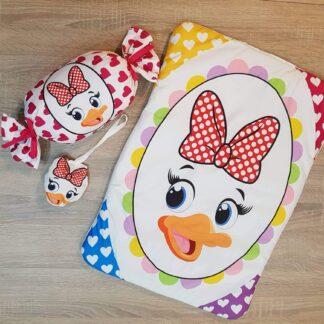 Στρωματάκι Daisy Duck με μαξιλαράκι