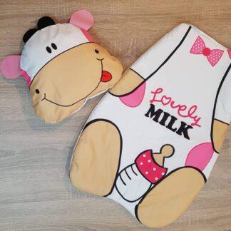 Στρωματάκι Αγελαδίτσα με μαξιλαράκι