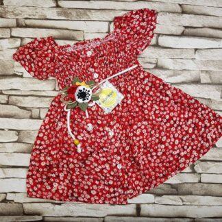 Φορεματάκι με λουλουδάκια