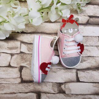 Παπουτσάκια Sneakers με Αρκουδάκι