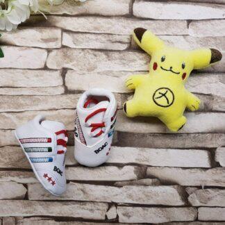 Παπουτσάκια με Λούτρινο Pikachu