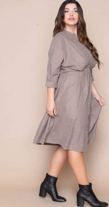 Φόρεμα Kyara με πιέτες