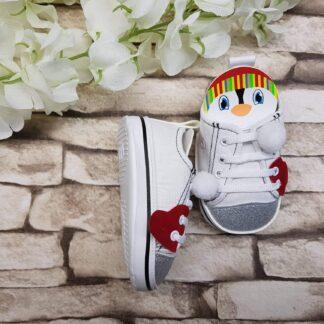 Παπουτσάκια Sneakers με Πιγκουινάκι