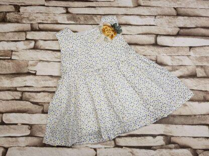 Φορεματάκι Φλοράλ με Λουλουδένια Καρφίτσα