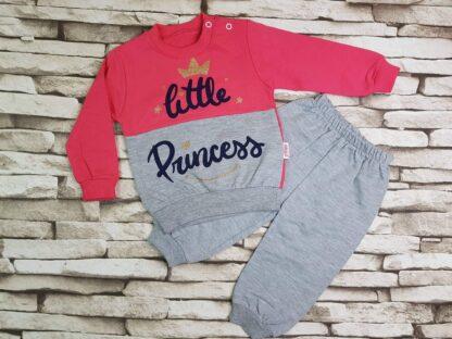 Σετ Φόρμες Μπλούζα Παντελόνι Little Princess