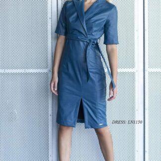 Φόρεμα Le Vertige δερματίνη