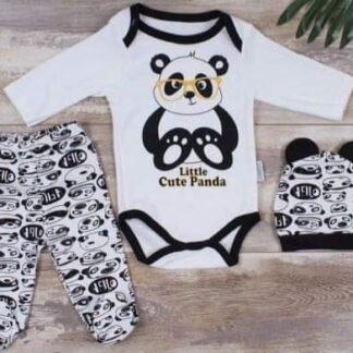 Σετ Ζιπουνάκι Little Cute Panda