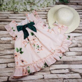 Φορεματάκι Φλοράλ με Καπελάκι