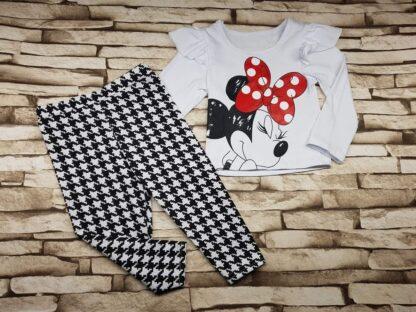 Σετ Μπλουζάκι Παντελονάκι Minnie Mouse