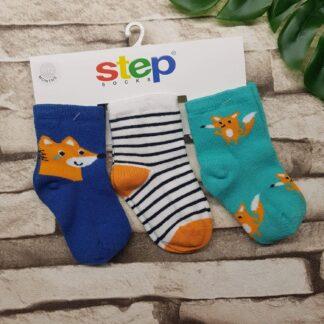 Κάλτσες 3άδα Αλεπουδίτσες