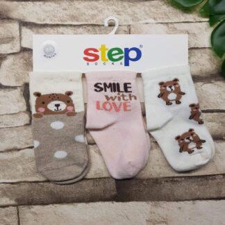 Κάλτσες 3άδα Αρκουδάκια