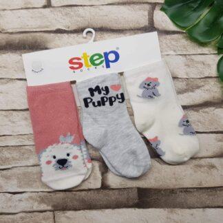 Κάλτσες 3άδα My Puppy