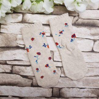 Κάλτσες Λουλουδάκια - 1Χ