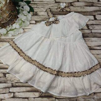 Φορεματάκι  Με Ασορτί Κοκκαλάκι