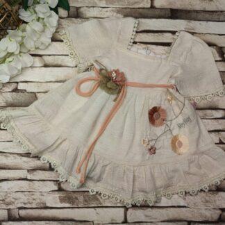 Φορεματάκι Με Κεντητά Λουλούδια Noy Noy