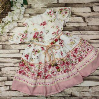 Φορεματάκι Φλοράλ Με Ζώνη
