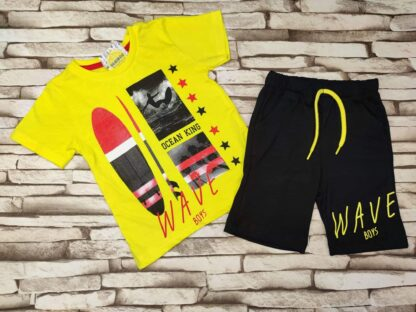 Σετ Μπλουζάκι Παντελόνι Wave Boys
