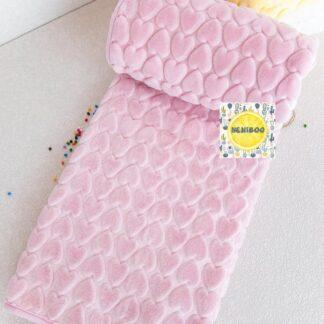 Κουβέρτα Ροζ Με Καρδούλες