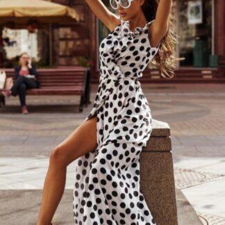 Φόρεμα Maxi Πουά Φάκελος