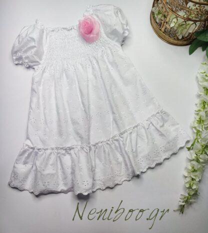 Φορεματάκι Κηπούρ Με Καρφίτσα