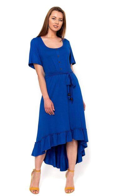 Φόρεμα Sugar Μπλε Ρουά