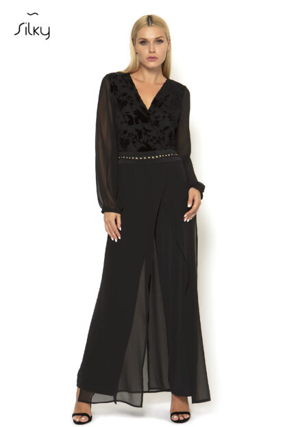 Ολόσωμη Φόρμα Silky Μαύρη