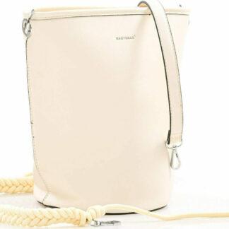 Τσάντα Μονόχρωμη–Λευκό Ώμου