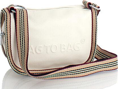 Τσάντα Χιαστί Bag to Bag Μπεζ Xρώμα