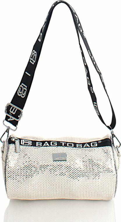 Τσάντα Χιαστί Bag to Bag  σε Μπεζ χρώματος