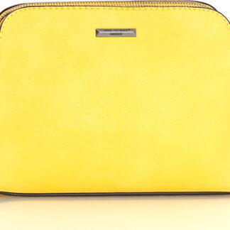 Τσάντα Χιαστί Bag to Bag σε Κίτρινο χρώμα