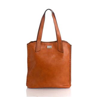 Τσάντα Ώμου Κάμελ Bag to Bag