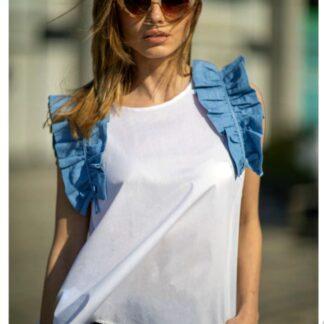 Μπλούζα Le Vertige Με Βολάν