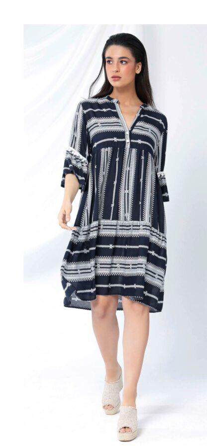 Φόρεμα Elsta Boho Με Πομ-Πομ