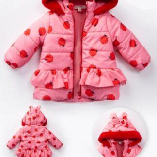 Μπουφανάκι Ροζ Με Πασχαλίτσες