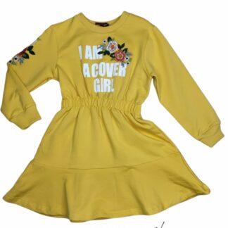 Φορεματάκι Κίτρινο I Am A Cover Girl