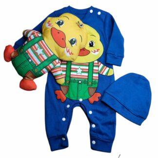 Φορμάκι Μπλε 3D Παπάκι Αποσπώμενο Αρκουδάκι