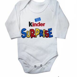 Ζιπουνάκι Λευκό Kinder Surprise