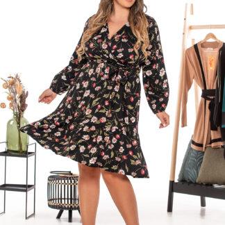Silky Collection Φόρεμα φλοραλ