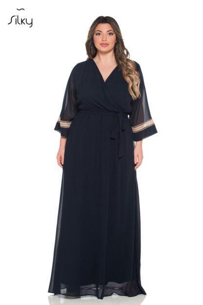 Silky Collection Φόρεμα Μπλε